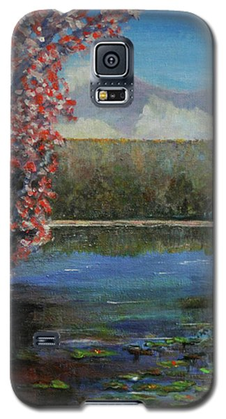 Galaxy S5 Case featuring the painting Recovery by Dottie Branchreeves