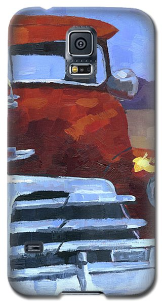 Red 1948 Chevy  Galaxy S5 Case