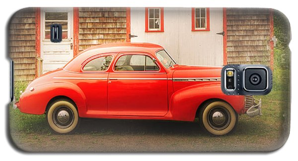 Galaxy S5 Case featuring the photograph Red 41 Coupe by Craig J Satterlee