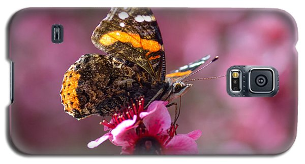 Red Admiral Butterfly Galaxy S5 Case