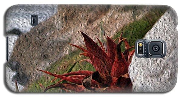 Red Aloe Vera By The Sea Galaxy S5 Case