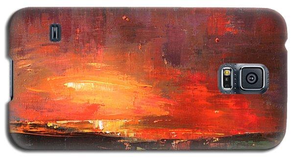 Red Galaxy S5 Case by Anastasija Kraineva