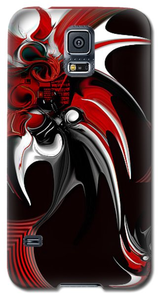 Red And Black Formation Galaxy S5 Case