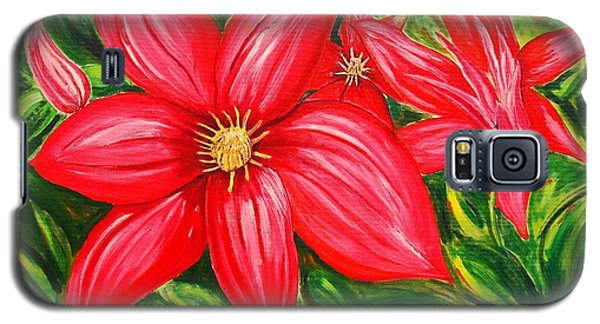 Red And Green Galaxy S5 Case by J R Seymour