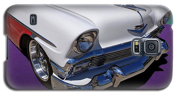 Red And White 1950s Chevrolet Wagon Galaxy S5 Case