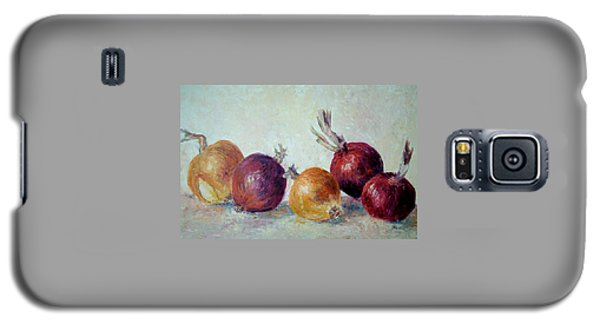 Red And Yellow Onions Galaxy S5 Case