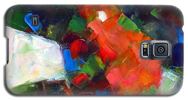 Red Anjou Confetti Galaxy S5 Case