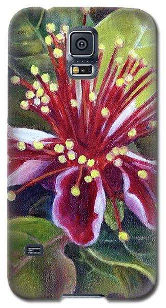 Pineapple Guava Flower Galaxy S5 Case