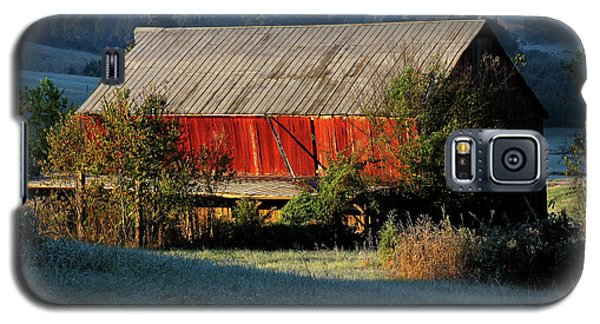 Galaxy S5 Case featuring the photograph Red Barn by Douglas Stucky