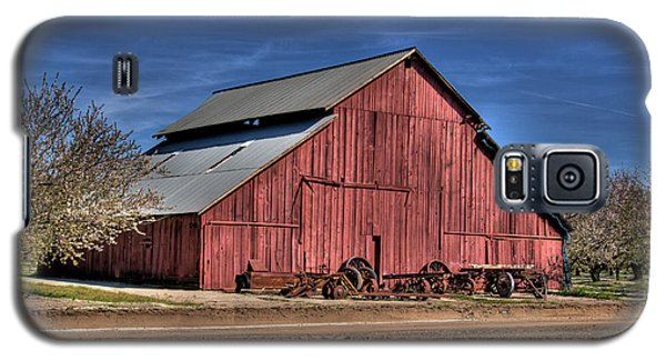 Galaxy S5 Case featuring the photograph Red Barn by Jim and Emily Bush