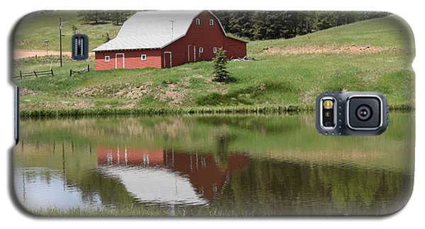 Red Barn Burgess Res Divide Co Galaxy S5 Case