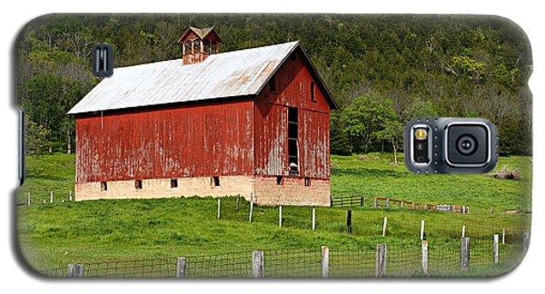 Red Barn With Cupola Galaxy S5 Case