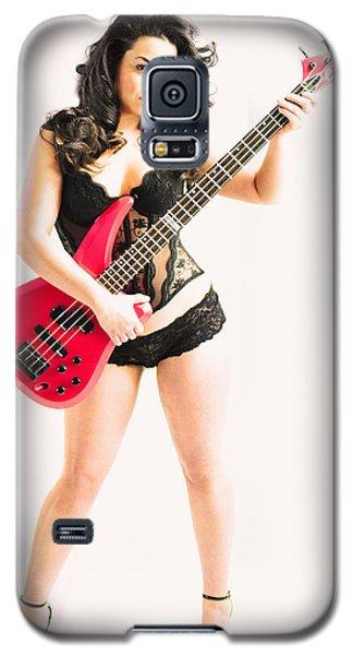 Red Bass Guitar Galaxy S5 Case