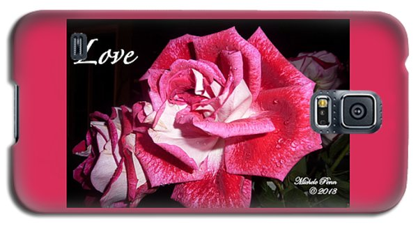 Red Beauty 3 - Love Galaxy S5 Case