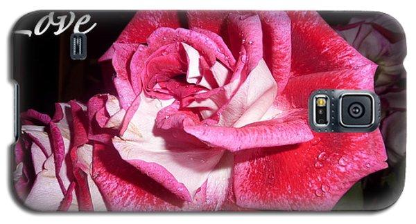 Red Beauty 3 - Love Galaxy S5 Case