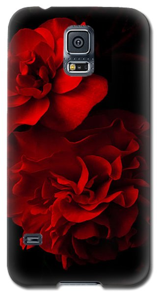 Red Begonia Galaxy S5 Case