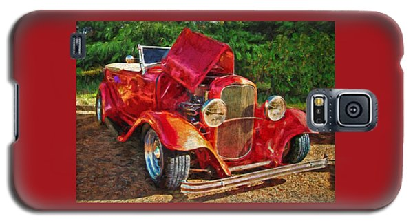 The Red Bell Roadster Galaxy S5 Case