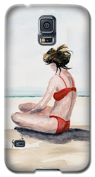 Red Bikini Galaxy S5 Case