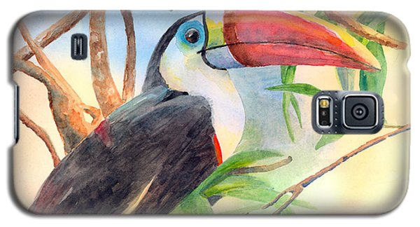 Red-billed Toucan Galaxy S5 Case by Arline Wagner