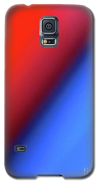 Galaxy S5 Case featuring the photograph Red Blue by CML Brown