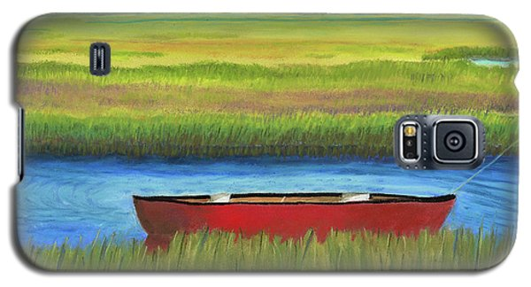 Red Boat - Assateague Channel Galaxy S5 Case