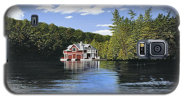 Red Boathouse Galaxy S5 Case