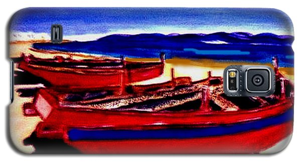 Red Boats Galaxy S5 Case