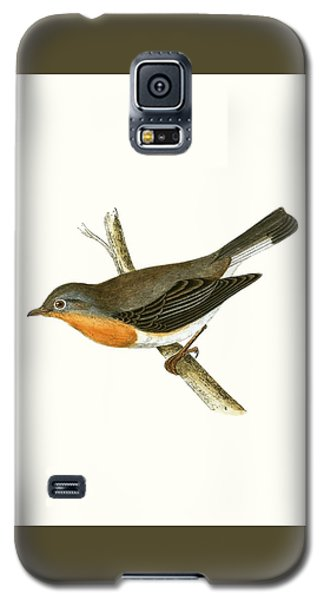 Red Breasted Flycatcher Galaxy S5 Case