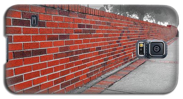 Red Brick Galaxy S5 Case