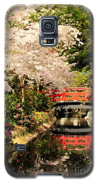 Red Bridge Reflection Galaxy S5 Case