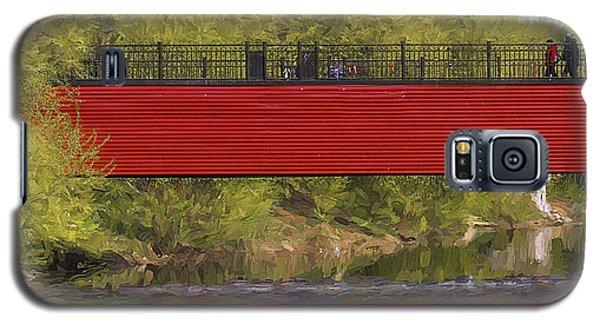 Red Bridge Galaxy S5 Case by Vladimir Kholostykh