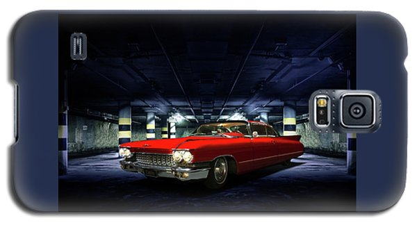 Red Caddie Galaxy S5 Case by Steven Agius