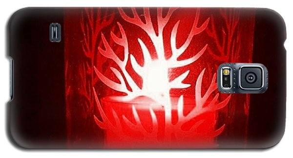Red Candle Light Galaxy S5 Case