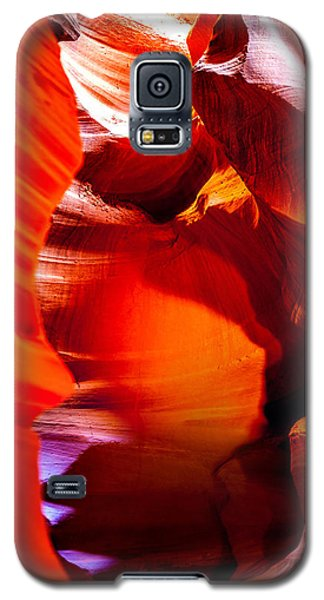 Featured Images Galaxy S5 Case - Red Canyon Walls by Az Jackson