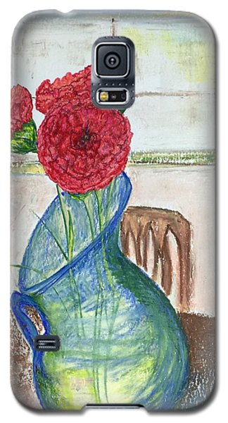 Red Carnations Galaxy S5 Case