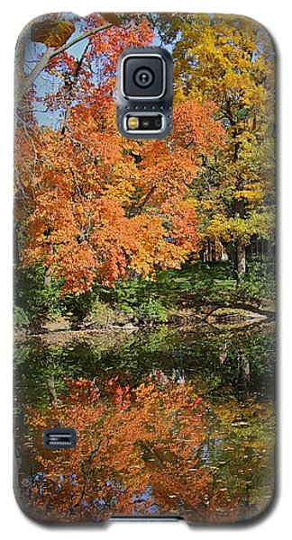 Red Cedar Banks Galaxy S5 Case by Joseph Yarbrough