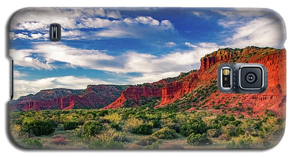 Red Cliffs Of Caprock Canyon 2 Galaxy S5 Case