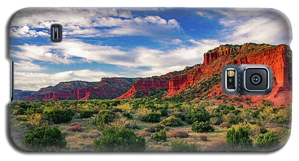Red Cliffs Of Caprock Canyon Galaxy S5 Case