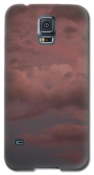 Galaxy S5 Case featuring the photograph Red Clouds Iv by Dylan Punke