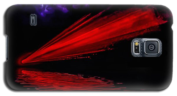 Red Comet Galaxy S5 Case by Naomi Burgess