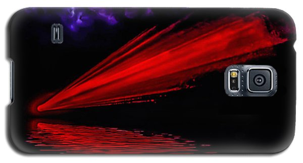 Galaxy S5 Case featuring the photograph Red Comet by Naomi Burgess
