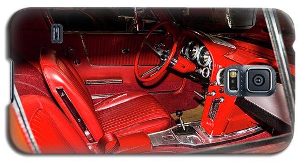 Red Corvette Stingray Galaxy S5 Case