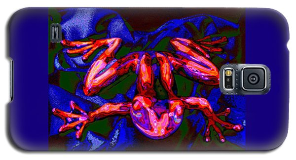 Red Crunchy Frog Galaxy S5 Case