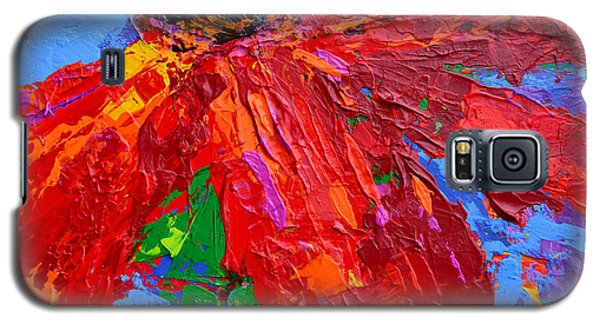 Red Daisy Galaxy S5 Case