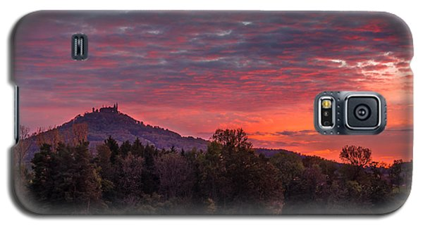 Red Dawn Over The Hohenzollern Castle Galaxy S5 Case