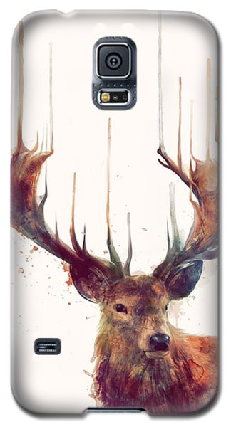 Wildlife Galaxy S5 Case - Red Deer by Amy Hamilton