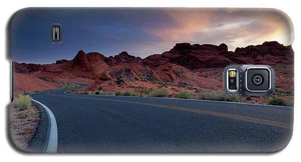 Red Desert Highway Galaxy S5 Case