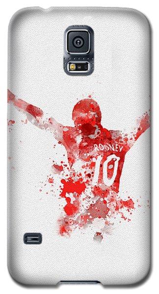 Red Devil Portrait Galaxy S5 Case by Rebecca Jenkins