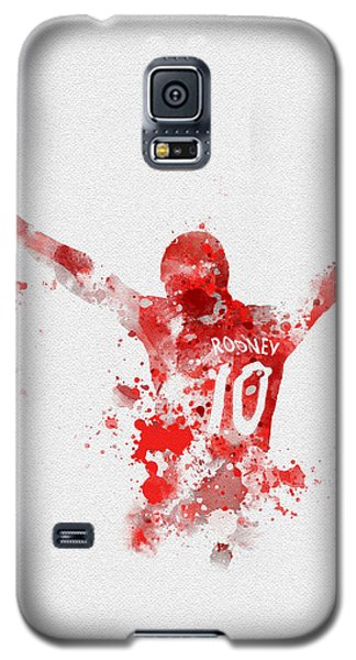 Red Devil Portrait Galaxy S5 Case by Rebecca Jenkins