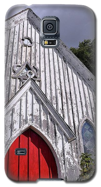 Red Door Galaxy S5 Case by Gina Savage
